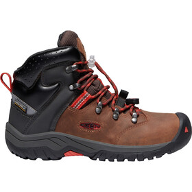 Keen Torino II Mid WP Chaussures Adolescents, tortoise shell/firey red